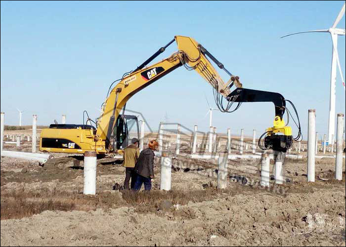 Silent Sheet Pile Driving Dewatering Silent Piling